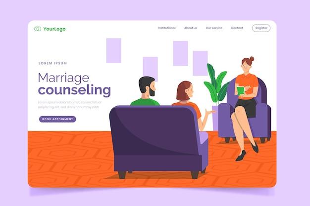 Asesoramiento matrimonial - página de inicio