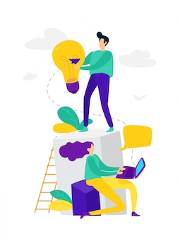 Asistente en línea en el trabajo