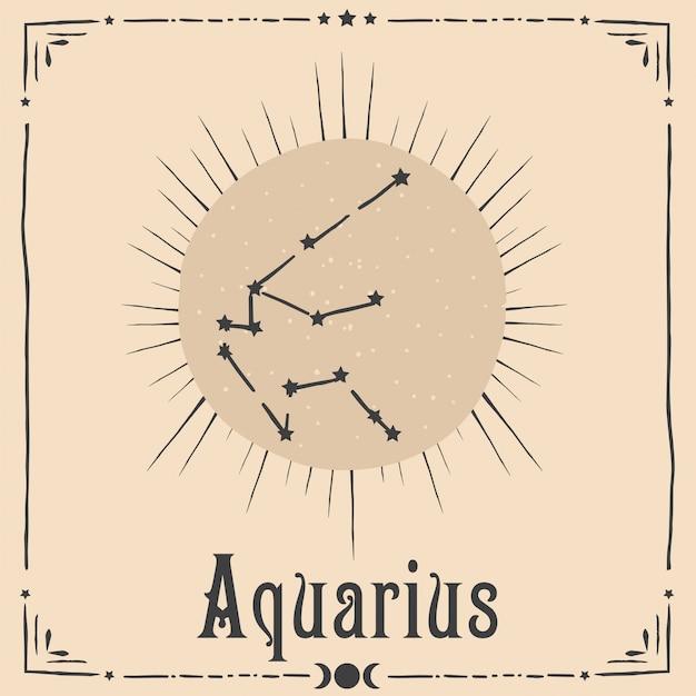 Astrología oculta signo del zodiaco