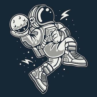Astronauta slamdunk