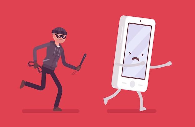 Ataque de robo de teléfono