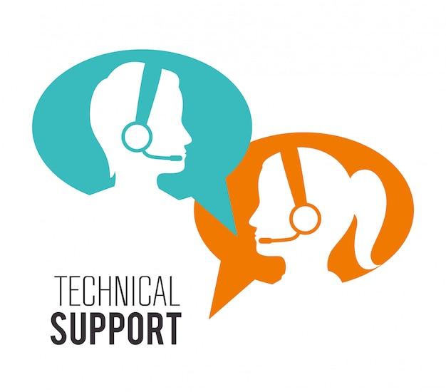 Atención al cliente y soporte técnico.