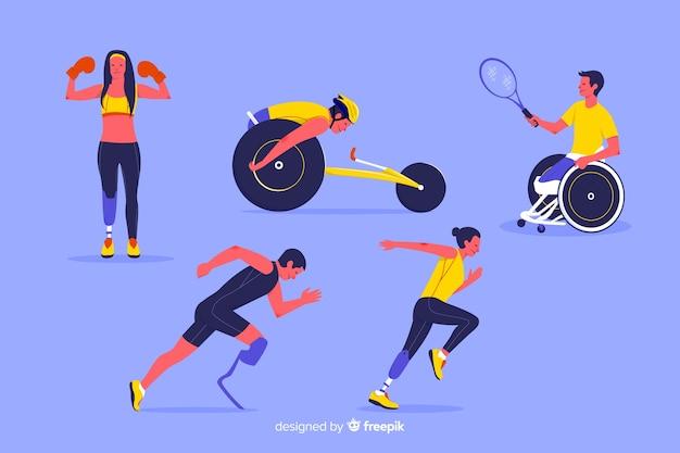 Atleta discapacitado