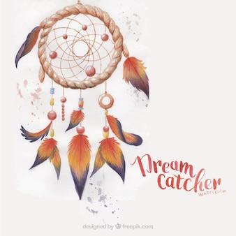 Atrapa sueños pintado