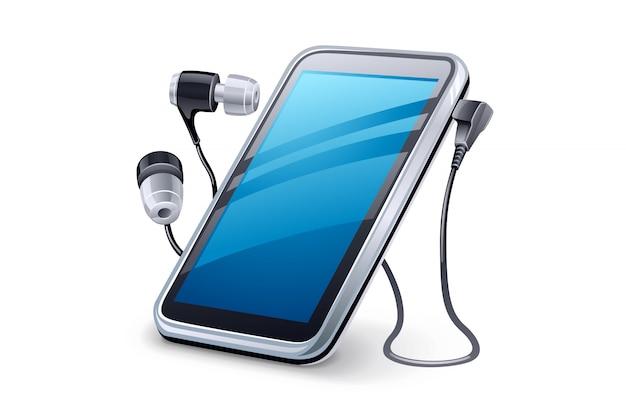 Auriculares y reproductor multimedia personal