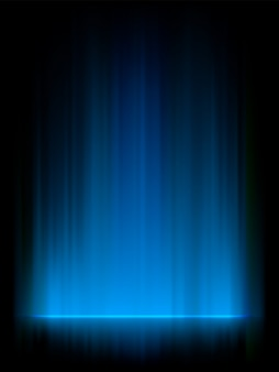 Aurora boreal azul, aurora boreal.