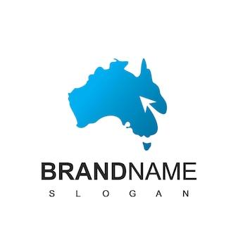 Australia tour and travel logo