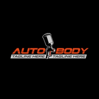 Auto body paint logo