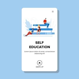 Autoeducación personas aprendizaje a distancia