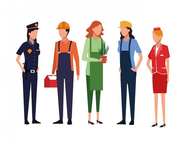 Avatar de trabajos y profesiones