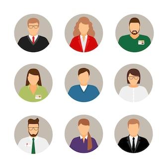 Avatares de empresarios
