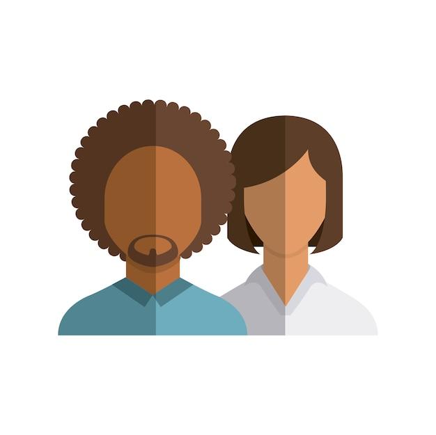 Avatares de la gente grupo de la comunidad