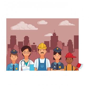 Avatares de profesion y ocupacion