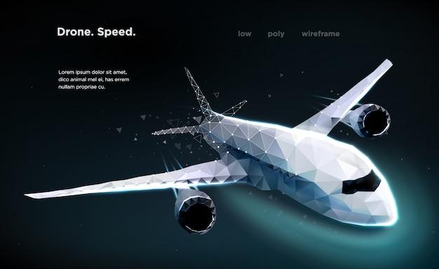 Avión de pasajeros de velocidad