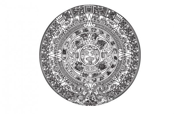 Calendario Azteca Vectores.Calendario Azteca Fotos Y Vectores Gratis