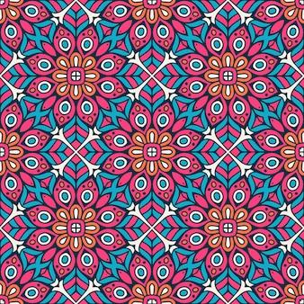 Azulejo geométrico decorativo de patrones sin fisuras
