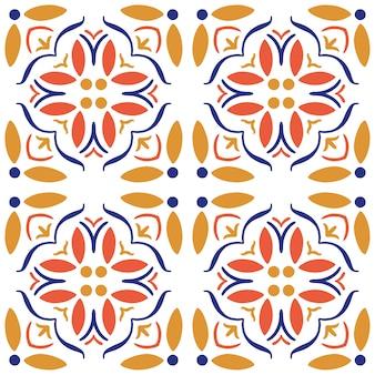 Azulejos de cerámica sin patrón.