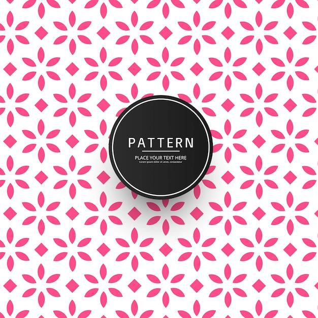 Azulejos florales abstractos de patrones sin fisuras repitiendo el fondo