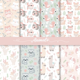 Baby girl nursery surface patterns