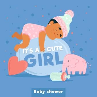 Baby shower para niña