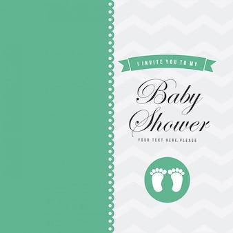 Invitaciones Para Baby Shower Gratis Vector Gratis