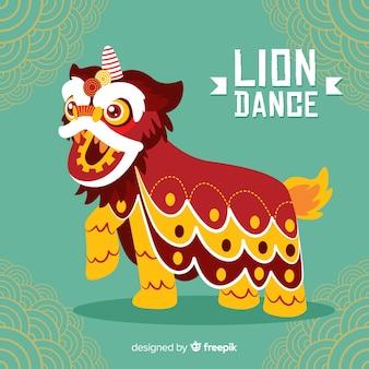 Baile del león