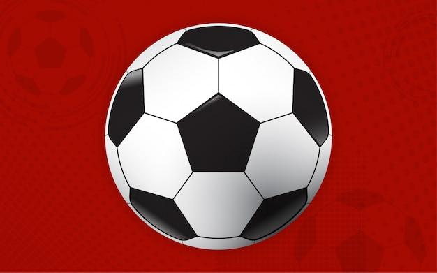 Balón de fútbol copa de fútbol