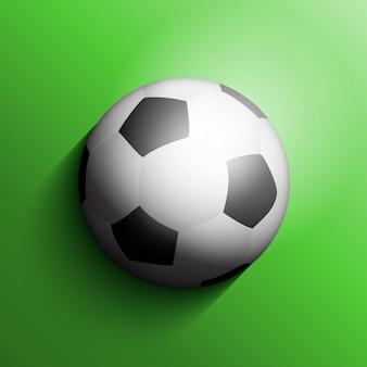 Balón de fútbol o fondo de fútbol