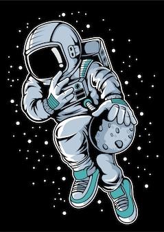 Baloncesto astronauta