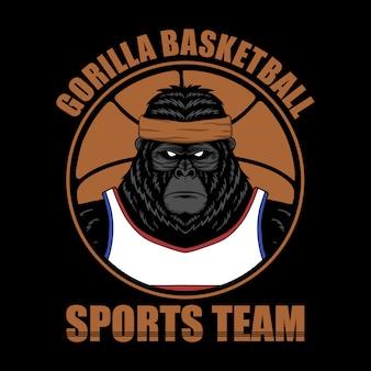 Baloncesto gorila