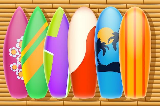 Bamboo surf