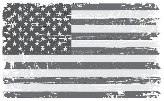 Bandera americana de la vendimia