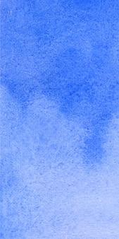 Bandera azul textura de fondo de acuarela