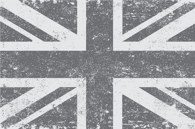 Bandera británica vintage