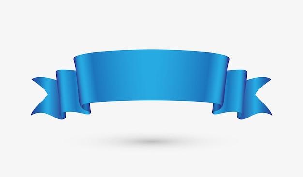 Bandera de cinta azul