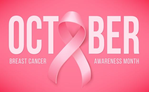 Bandera de la conciencia del cáncer de mama