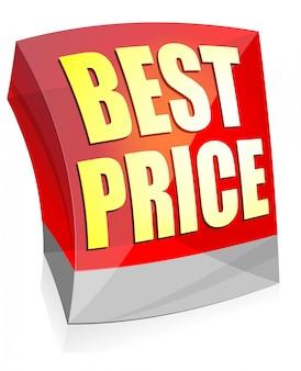 Bandera de cubos de vidrio de color brillante mejor precio