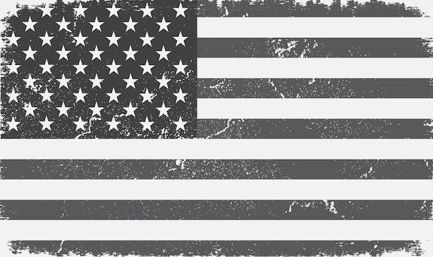 Bandera de estados unidos de la vendimia