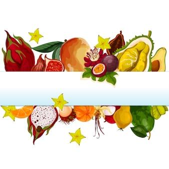 Bandera de la fruta del dragón