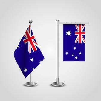 Bandera de inglaterra en un vector de diseño elegante