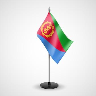 Bandera de mesa de eritrea