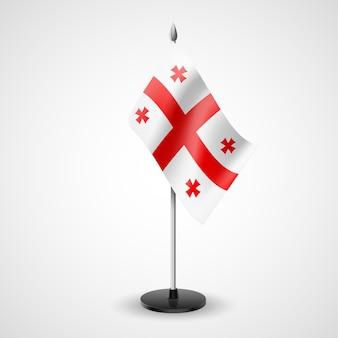 Bandera de mesa de georgia