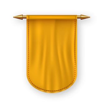 Bandera naranja pennat