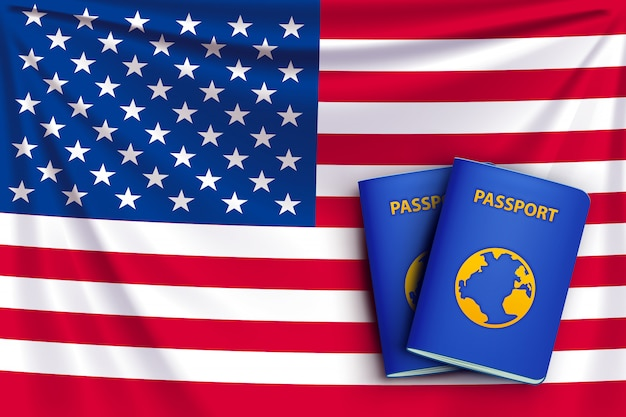 Bandera del pasaporte