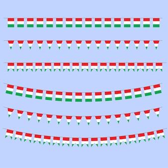 Banderas del empavesado