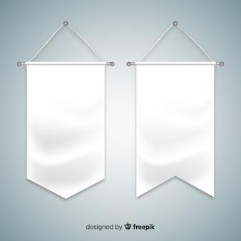Banderín de tela
