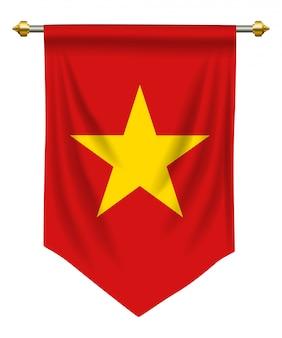 Banderín de vietnam