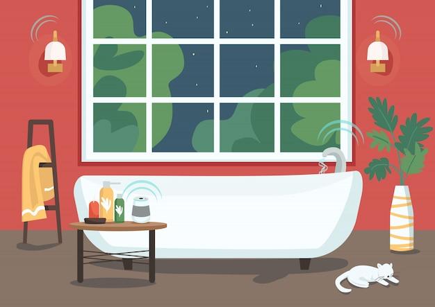 Bañera inteligente