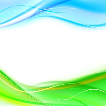 Banner abstracto
