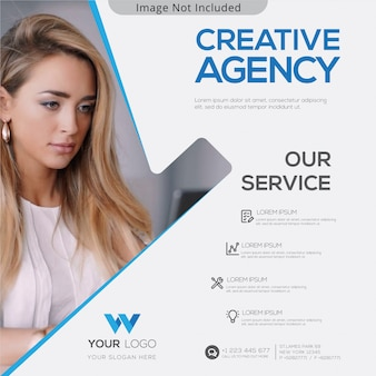 Banner de agencia creativa